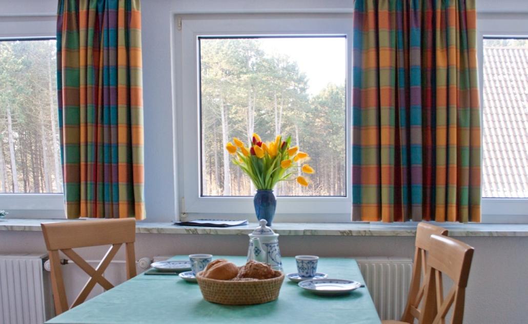 Ausblick Wohnung 5 Ferienhaus Tadsen - 1