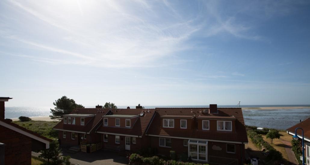Aussicht vom Wohnraum/Balkon